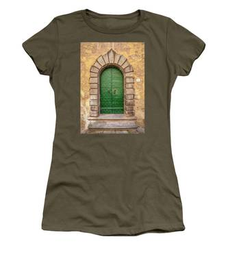 Door Six Of Cortona Women's T-Shirt