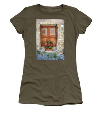 Door Thirteen Of Tuscany Women's T-Shirt