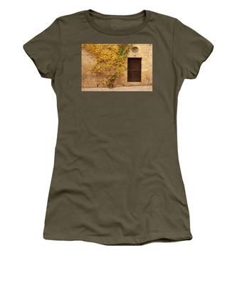 Doorway, Sarlat, France Women's T-Shirt