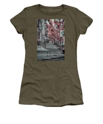 Empty Sidewalk Women's T-Shirt