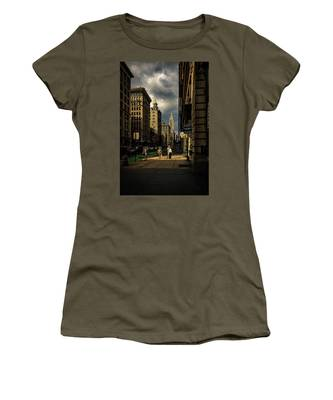 Evening On Fifth Avenue Women's T-Shirt by Chris Lord