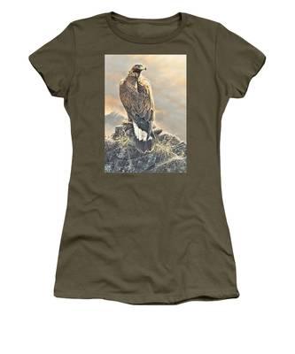Highlander - Golden Eagle Women's T-Shirt