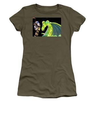 Little Dragon Women's T-Shirt