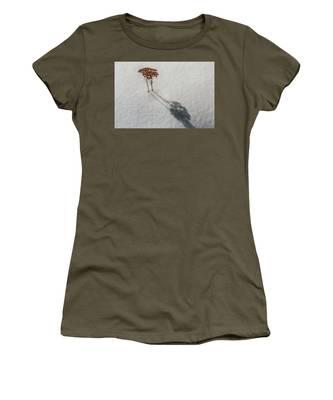 Long Shadow Of Winter Women's T-Shirt