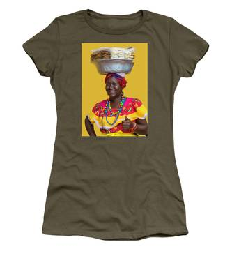 Los Palenques De Cartagena De Indias Women's T-Shirt