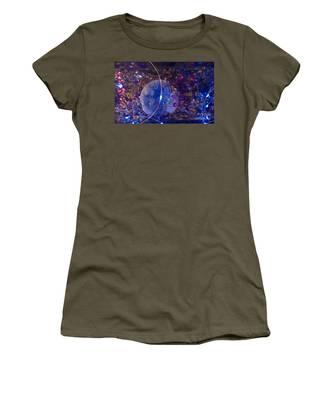 Man In The Moon Women's T-Shirt