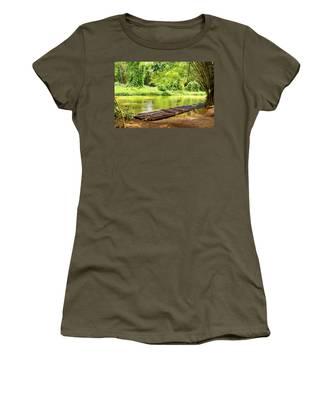 Martha Brae River Bamboo Rafting Women's T-Shirt