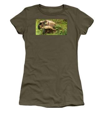 Old Logging Equipment-2 Women's T-Shirt