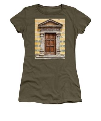 Ornate Door Of Tuscany Women's T-Shirt