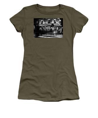 Paris At Night - Rue Bonaparte Women's T-Shirt