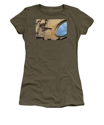 Reflection, Sarlat, France Women's T-Shirt