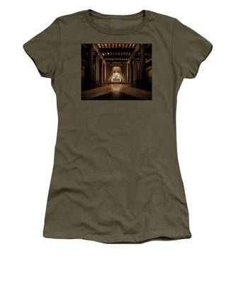 Remembering Mr. Lincoln Women's T-Shirt by Chris Lord