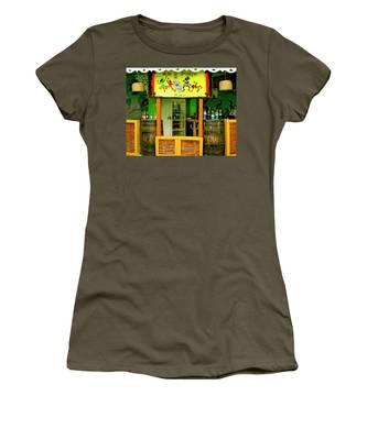 Roadside Watering Hole Women's T-Shirt