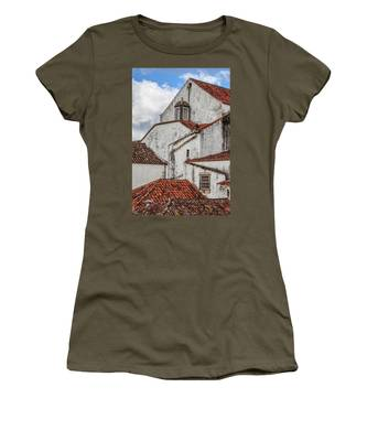 Rooftops Of Obidos Women's T-Shirt
