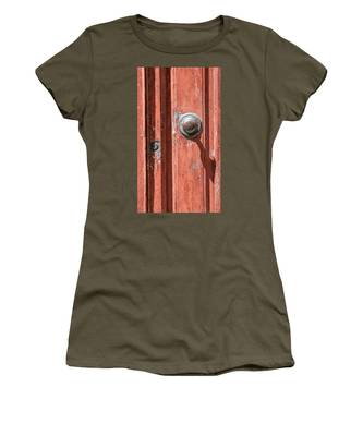 Shadow Door Of Tuscany Women's T-Shirt