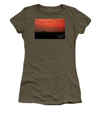 Sunset Over Philly Women's T-Shirt