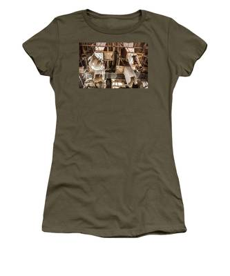 The Ghost Of Factories Past Women's T-Shirt
