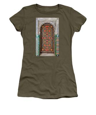 Tiled Door Of Sevilla Women's T-Shirt