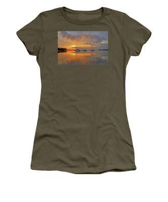 Tranquility Bay - Florida Sunrise Women's T-Shirt