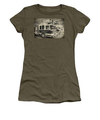 Truck And Engine 211 Women's T-Shirt
