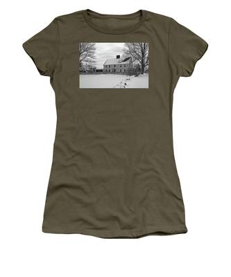 Winter At Noyes House Women's T-Shirt