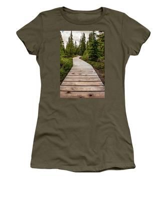 Wooden Walkway Women's T-Shirt