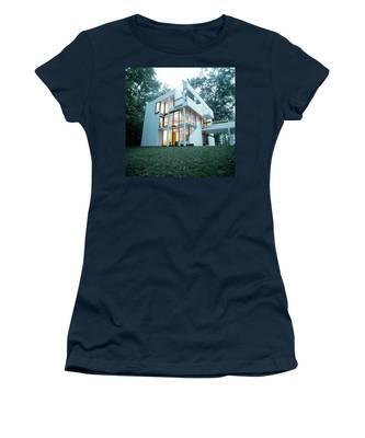 Exterior Of Mr. And Mrs. Jay Hanslemann's Women's T-Shirt