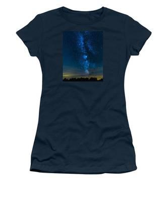 Milky Way Cherry Springs Women's T-Shirt