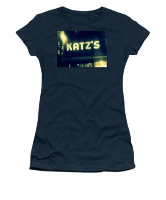 Nyc's Famous Katz's Deli Women's T-Shirt
