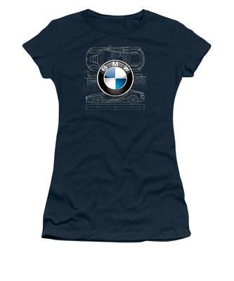 Bmw I8 Women's T-Shirts