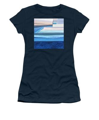 Abstract Swimming Pool Women's T-Shirt