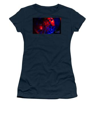 Ball Of Color - Red Women's T-Shirt