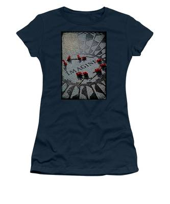 Women's T-Shirt featuring the photograph Imagine If by Chris Lord
