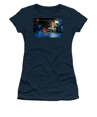Never The Right Time Women's T-Shirt by Break The Silhouette