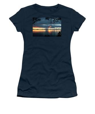 Orcas Island Sunset Women's T-Shirt