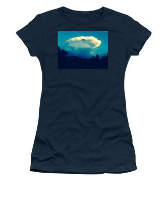 Storm Over Santa Fe Women's T-Shirt
