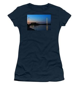 Sunset On The Bob Kerry Pedestrian Bridge Women's T-Shirt