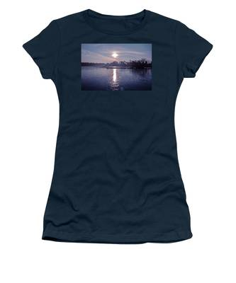 Frozen Lake Women's T-Shirts