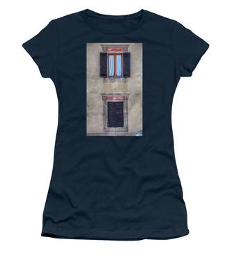 Windows Of Montalcino Women's T-Shirt