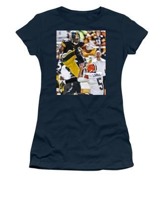 Antonio Brown Women's T-Shirts