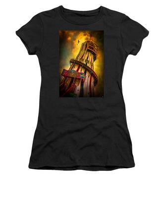 Women's T-Shirt featuring the photograph Helter Skelter by Chris Lord