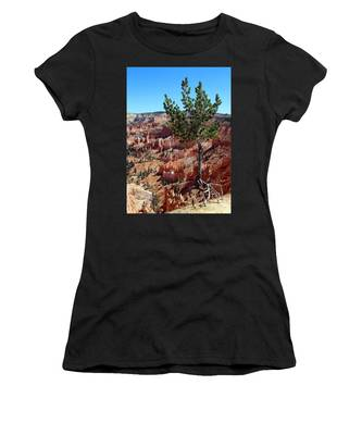 Women's T-Shirt featuring the photograph Twisted by Jemmy Archer