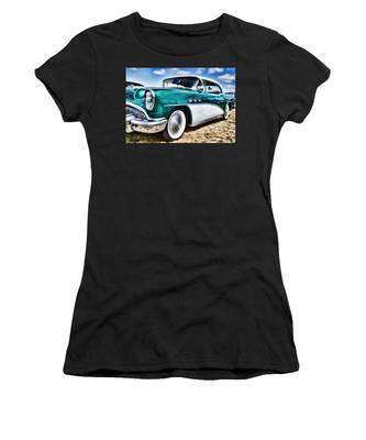 1955 Buick Women's T-Shirt