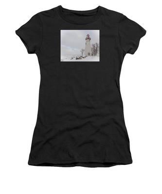 Marblehead Lighthouse Lake Erie Women's T-Shirt