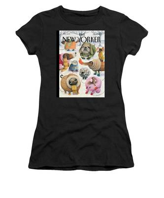Baby Its Cold Outside Women's T-Shirt
