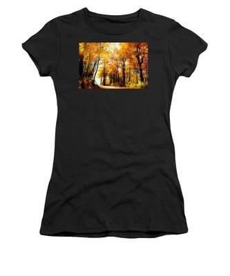 A Golden Day Women's T-Shirt
