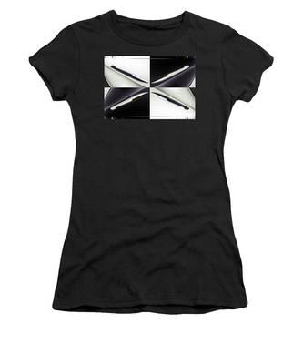 B And W Chevy Women's T-Shirt