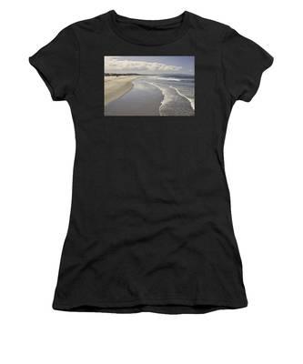 Beach At Santa Monica Women's T-Shirt