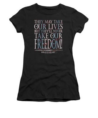 Historical Women's T-Shirts
