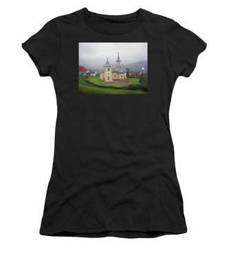 Church In The Mist Women's T-Shirt